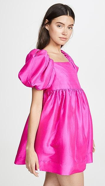 Azeeza Kam Puff Sleeve Mini Dress