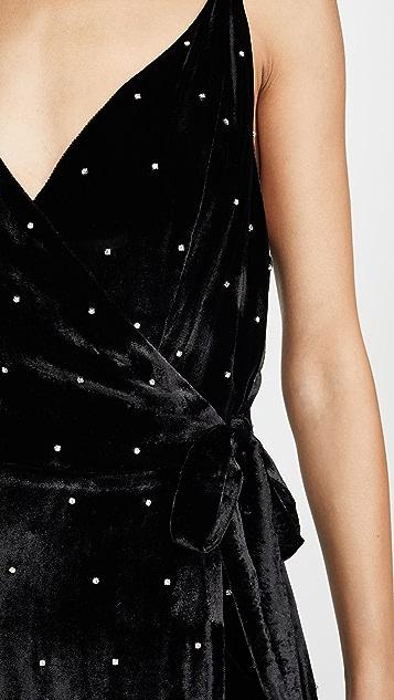 Azeeza Evie High Slit Gown
