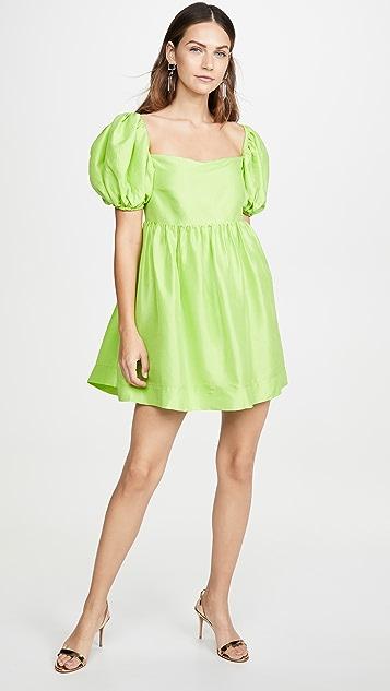 Azeeza Puff Sleeve Mini Dress
