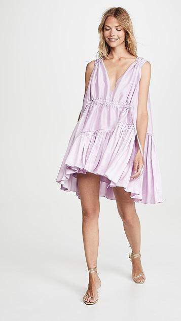 Azeeza Мини-платье на завязках Nella