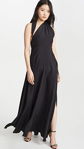 Azeeza Вечернее платье с разрезом