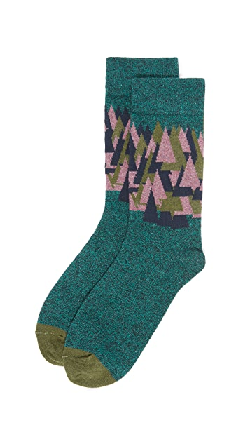 Badelaine Paris Sapins Socks