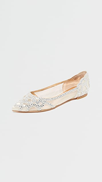 Badgley Mischka Gigi Flats