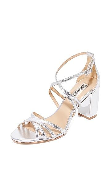 50688fd6d58 Badgley Mischka Tilden Block Heel Sandals