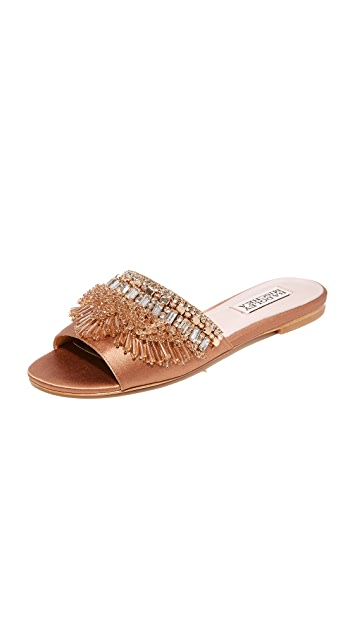 Badgley Mischka Kassandra Embellished Slides