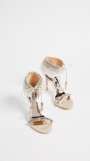 Badgley Mischka Katrina Embellished Sandals
