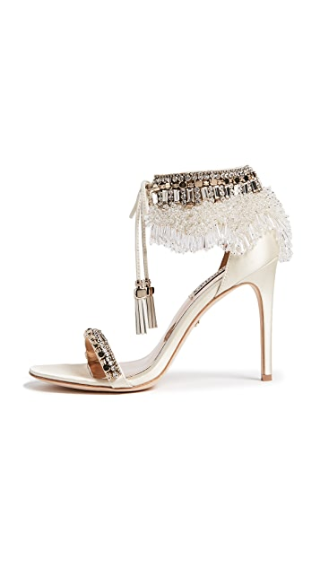 Badgley Mischka Katrina Embellished Sandals