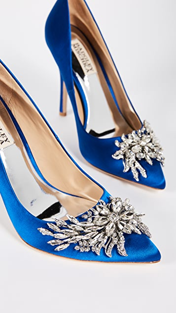 Badgley Mischka Marcela Embellished Pumps