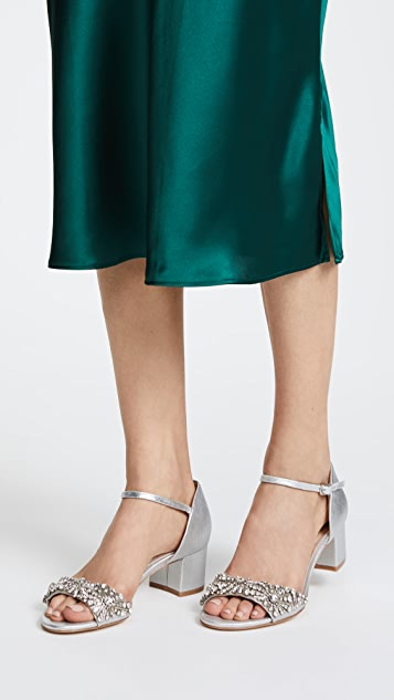 Badgley Mischka Mareva Block Heel Sandals