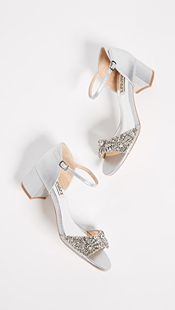 Badgley Mischka Mareva Block Heel Sandals