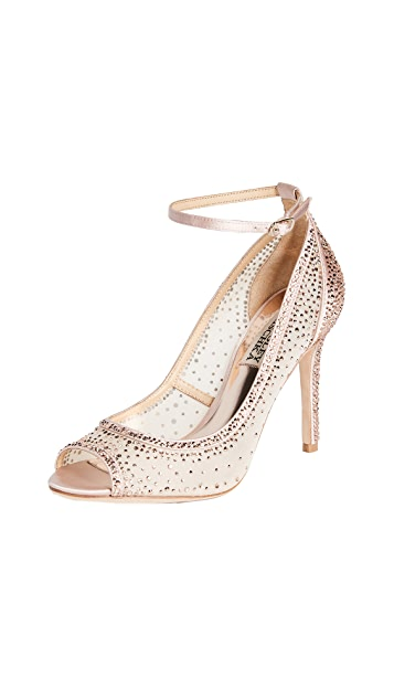 Badgley Mischka Weylin Open Toe Pumps
