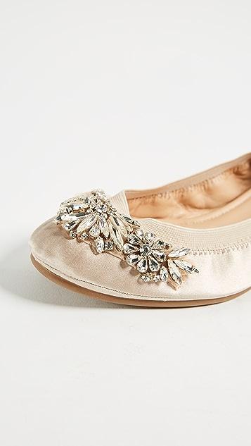 Badgley Mischka Sasha Ballet Flats