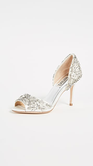 Badgley Mischka Shaina Open Toe Pumps