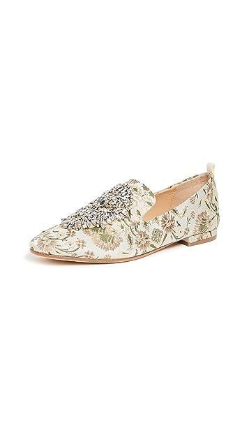 Badgley Mischka Salma Printed Loafers