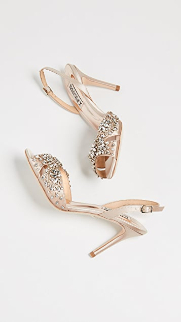 Badgley Mischka Paula Slingback Sandals