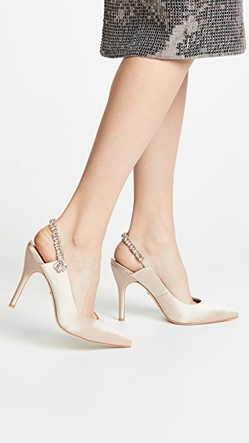 Badgley Mischka Paxton Slingback Pumps with Pointed Toe