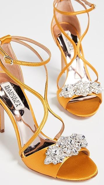 Badgley Mischka Vanessa Strappy Sandals