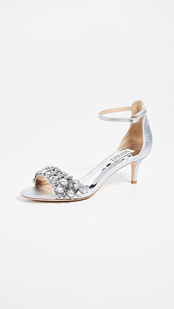 Badgley Mischka Lara Ii Ankle Strap Sandals
