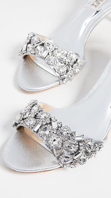 Badgley Mischka Lara II Ankle Strap Sandals