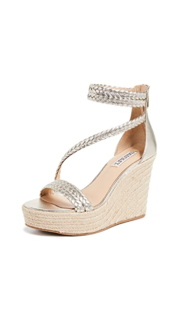Badgley Mischka Lita Wedge Espadrilles