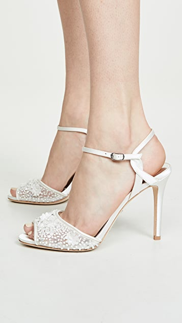 Badgley Mischka Isabella Ankle Strap Sandals
