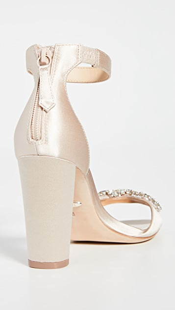 Badgley Mischka Edaline Block Heel Sandals