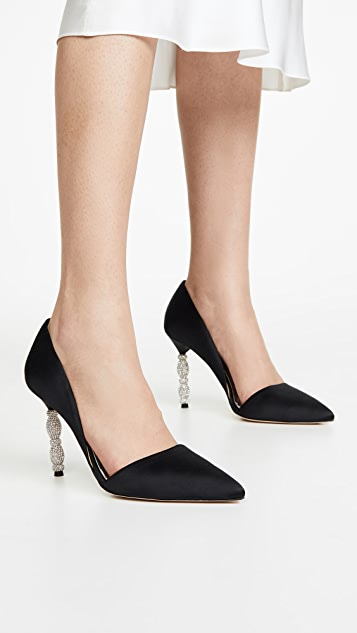 Badgley Mischka Emily Point Toe Pumps