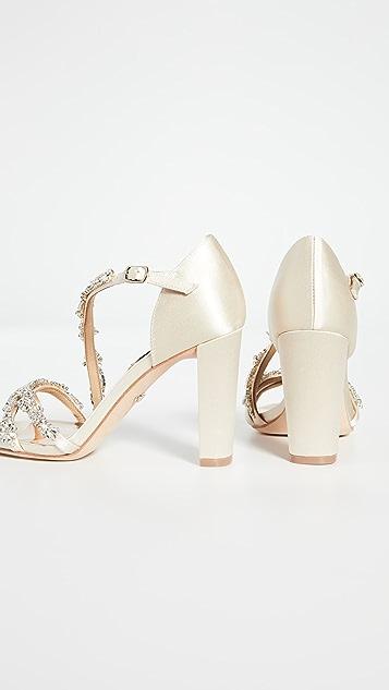 Badgley Mischka Omega Strappy Sandals