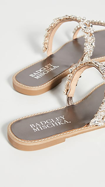 Badgley Mischka Jenelle 凉拖鞋