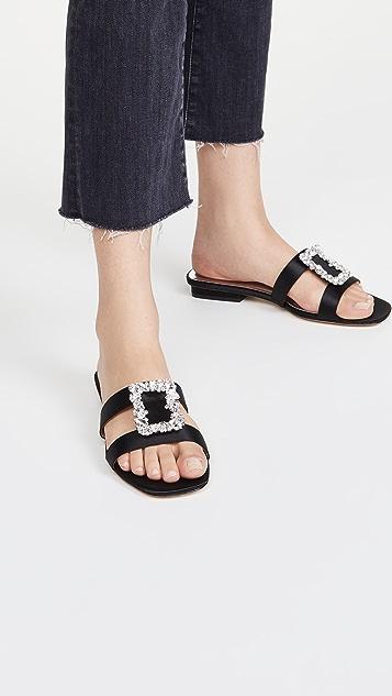 Badgley Mischka Josette Slide Sandals