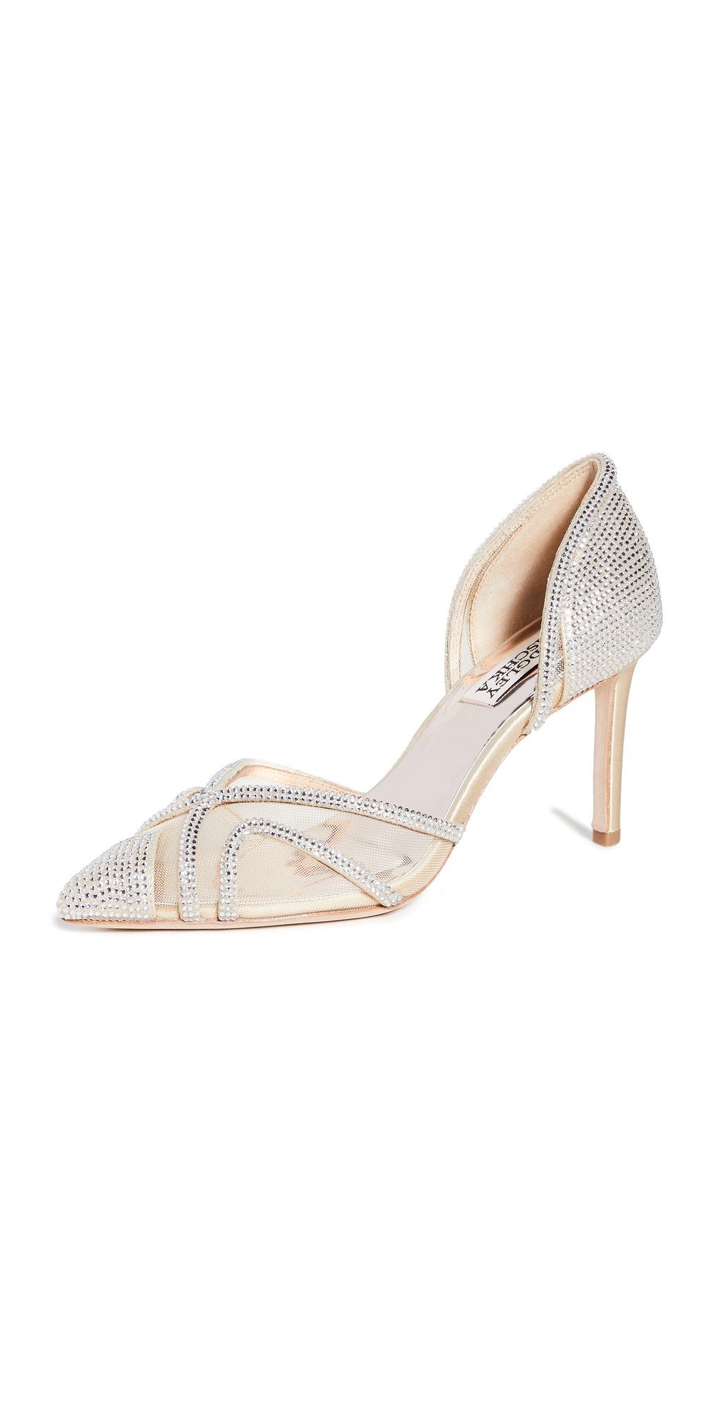 Badgley Mischka Haze Point Toe Pumps