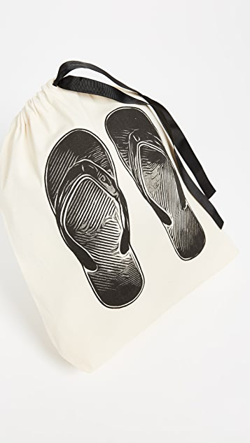 Bag-all Flip Flop Organizing Bag