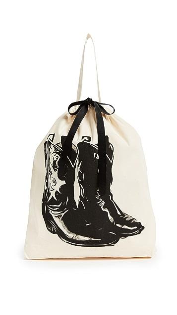 Bag-all Cowboy Boot Organizing Bag