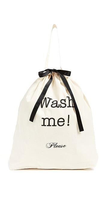 Bag-all Wash Me Travel Bag - Natural/Black