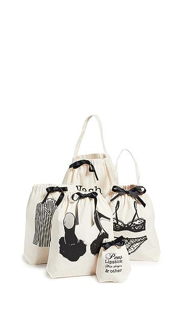 Bag-all 女子周末旅行套装