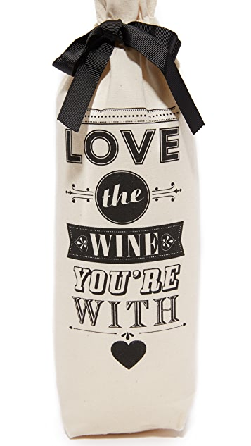 Bag-all Love the Wine You're With Wine Set