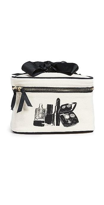 Bag-all Beauty Box Travel Case - Natural/Black