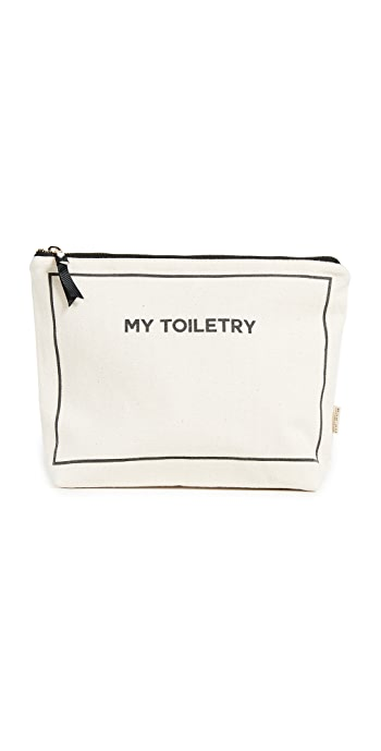 Bag-all My Toiletry Lined Travel Pouch - Natural/Black
