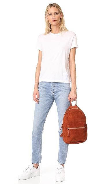 BAGGU Замшевый рюкзак
