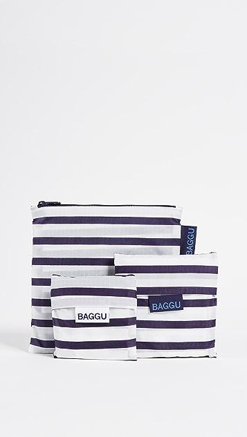 BAGGU Standard Triple Set