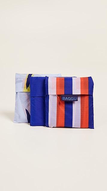 BAGGU Standard Packable Bag Triple Set