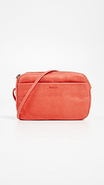 BAGGU Mini Camera Bag - Warm Red
