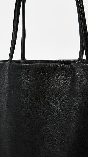 BAGGU Плоская объемная сумка с короткими ручками