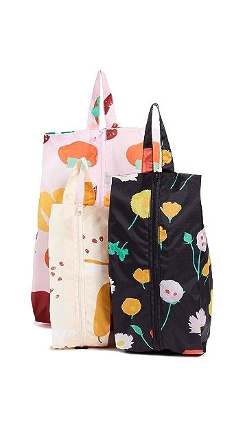 BAGGU 3D Zip Bag Set