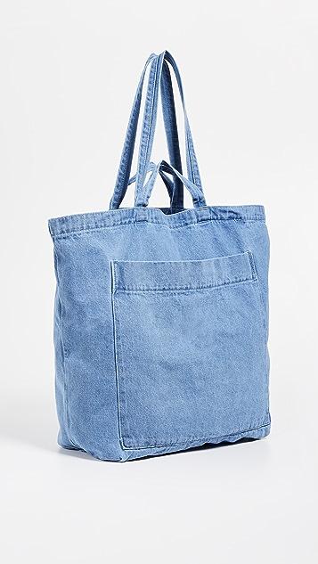 BAGGU Объемная сумка Giant с короткими ручками и карманом
