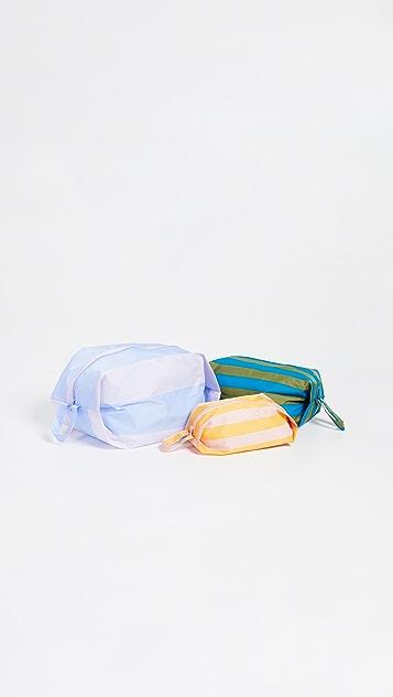 BAGGU 3D 拉链包套装