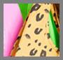 Pink/Neon Green/Leopard