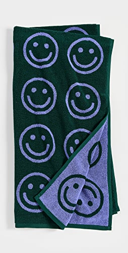 BAGGU - Evergreen Happy 浴巾