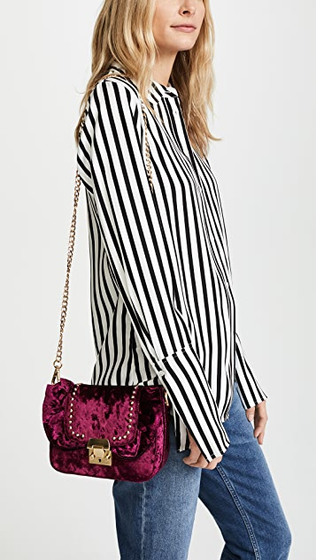 Studio 33 Gina Ruffle Cross Body Bag
