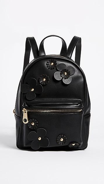 Studio 33 Floral Applique Mini Backpack